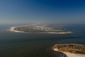 Grand Isle Port Commission aerial photo